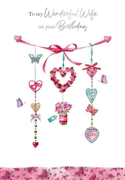 Wife Birthday - Hanging Charms