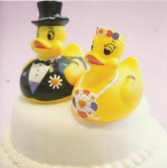 Wedding Card - Mr & Mrs Ducks
