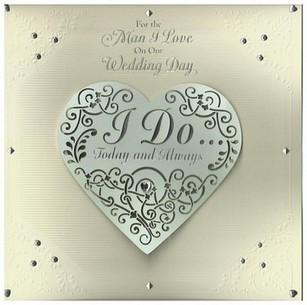 Wedding Card - For the Man I Love