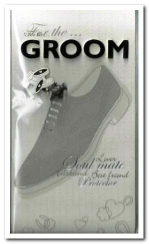 Wedding Card - For the Groom...