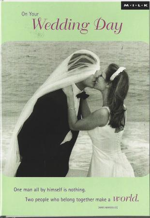 Wedding Card - Newly Wedded Bliss, Long Island, New York