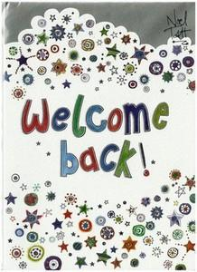 Welcome Card - Welcome Back!