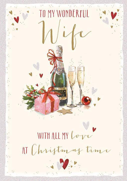 Christmas Card - Wife - Special Moments