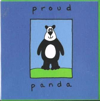 Children's Birthday Card - Proud Panda