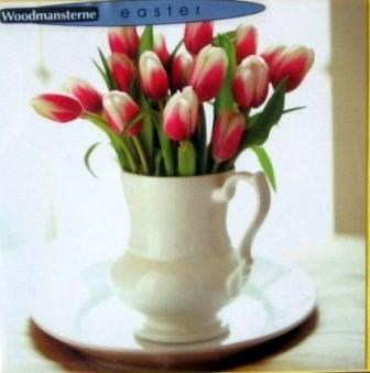 Easter Cards - Pack of 3 - Spring Tulips