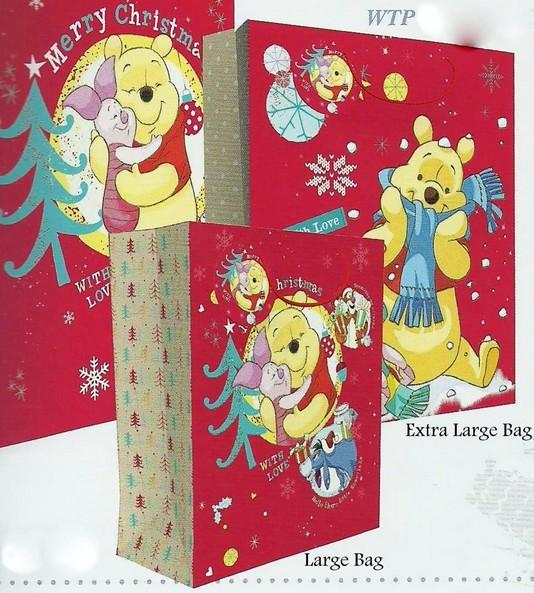 Christmas Gift Bags - Extra Large Disney Winnie The Pooh