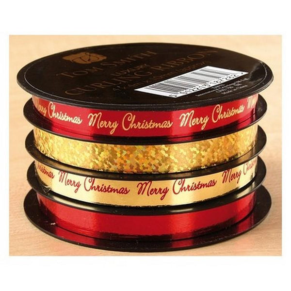 Ribbon on Spool - Red and Gold                    (AG)