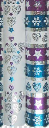 Christmas Gift Roll Wrap - Choice of 2 Designs