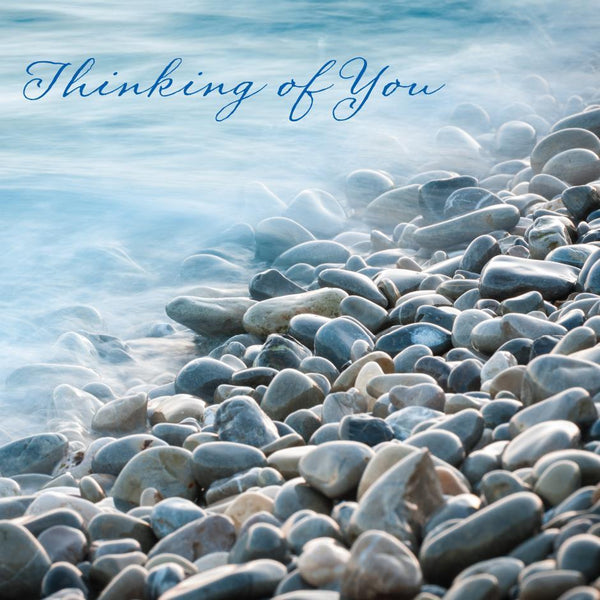 Thinking Of You Card - On The Shore