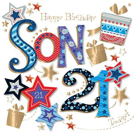 Son 21st Birthday - Son 21