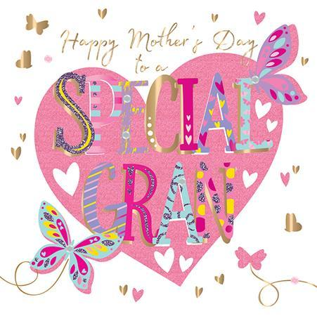 Mother's Day Card - Gran - Special Gran