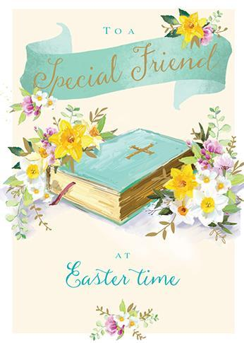 Easter Card - Friend - An Easter Prayer