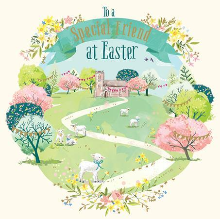 Easter Card - Friend - Easter Time