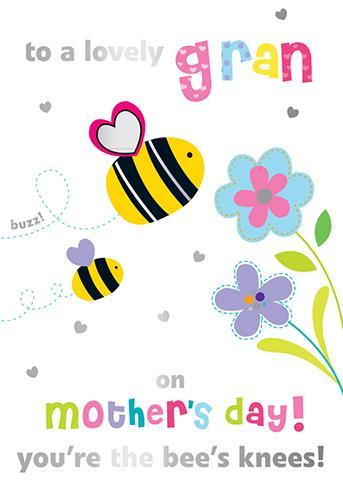 Mother's Day Card - Gran - Lovely Gran