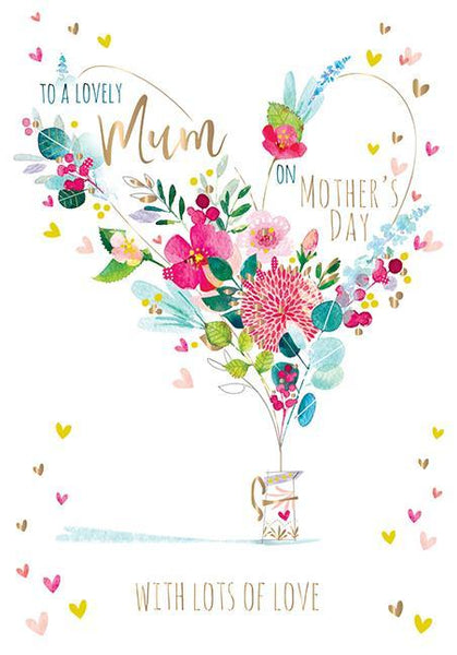 Mother's Day Card - Floral Jug
