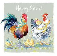 Easter Cards - Pack of 4 - Farmyard Family