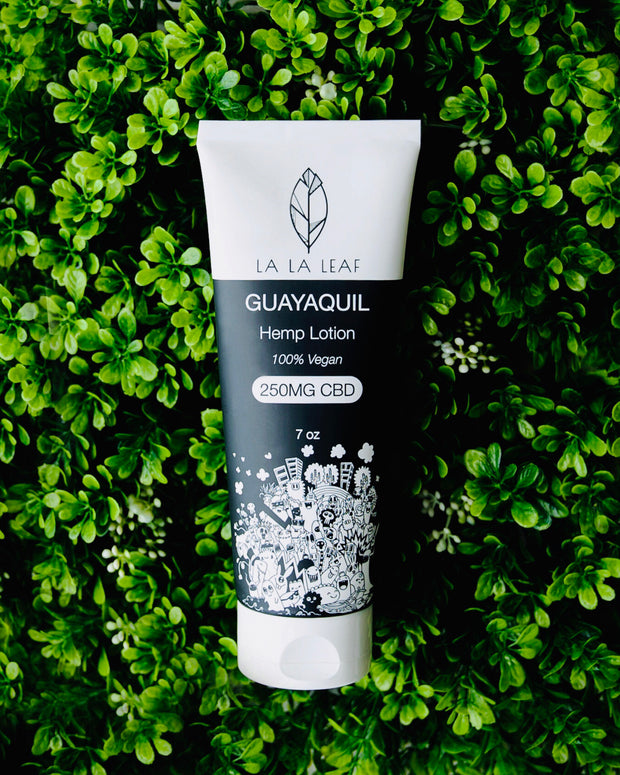 Guayaquil Hemp Lotion - La La Leaf