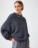 CASHMERE LINEN SWEATER