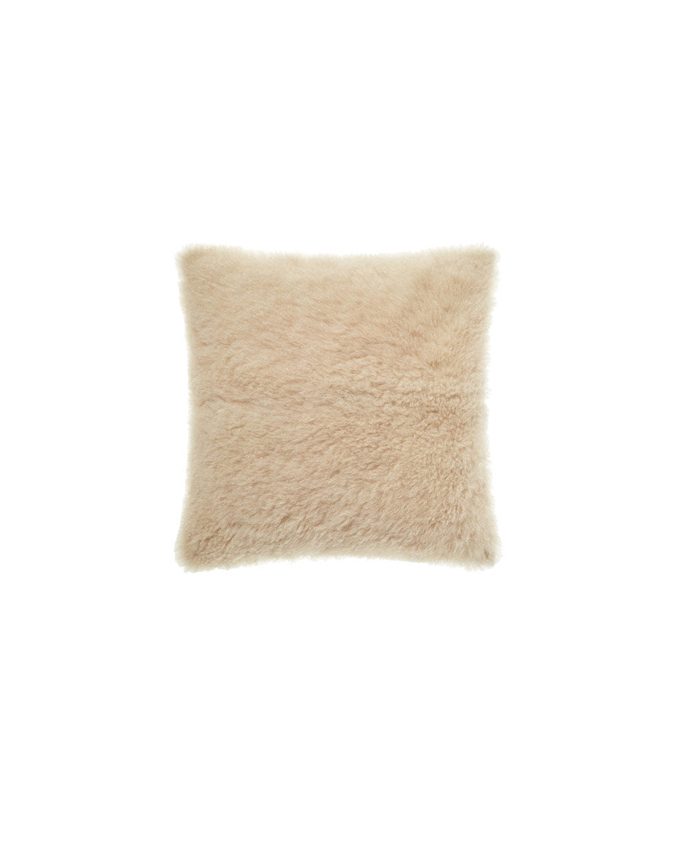 Cashmere shearling pillow small