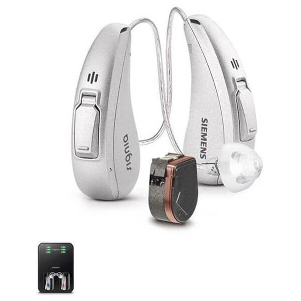Siemens Signia Cellion Primax 5 Hearing Aid (With Rechargeable Station) - Pair