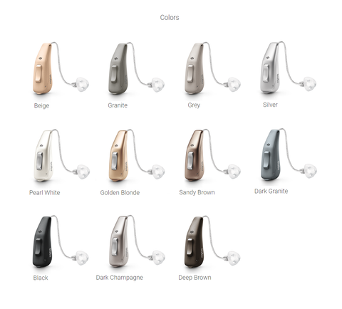 Signia Pure Charge&Go Nx 5 Rechargeable Hearing Aids (iPhone Compatible)