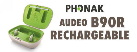 Phonak Audeo B-R Belong B90-R (Rechargeable) - Pair