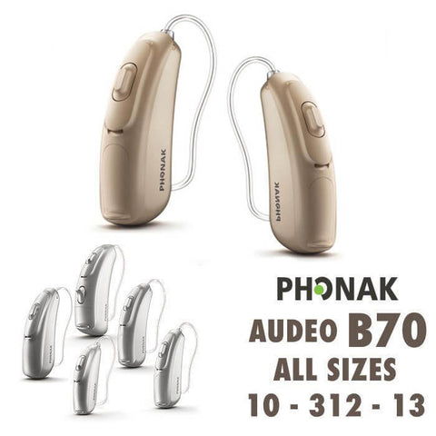 Phonak Belong Audeo B90 (10, 312, 13) - Pair