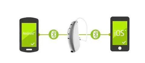 Phonak Audeo B50 Direct to iPhone & Android - Pair
