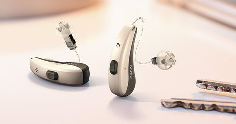 Siemens Signia Pure Charge&Go Nx 5 Rechargeable Hearing Aids (iPhone Compatible) - Pair