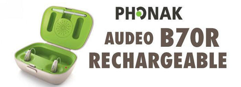 Phonak Audeo B-R Belong B70-R (Rechargeable) - Pair