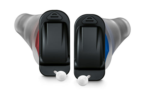 Signia Silk 5X CIC (Practically invisible) Hearing Aids - Pair