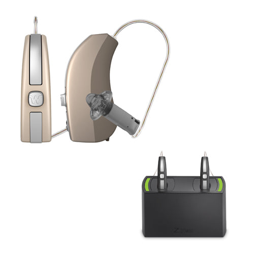 Widex Evoke 330 Hearing Aids (Pair) - Rechargeable Bundle