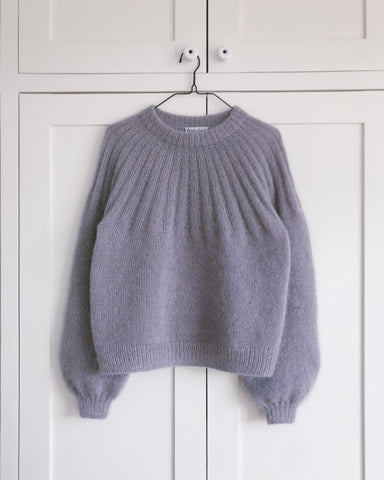 Sunday Sweater Mohair Edition fra PetitKnit