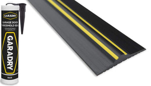 "Garadry ½"" Garage Door Threshold Seal Kit 10'3"""