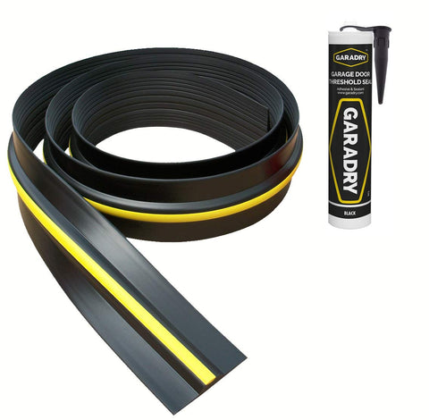 "Garadry ½"" Garage Door Threshold Seal Kit"