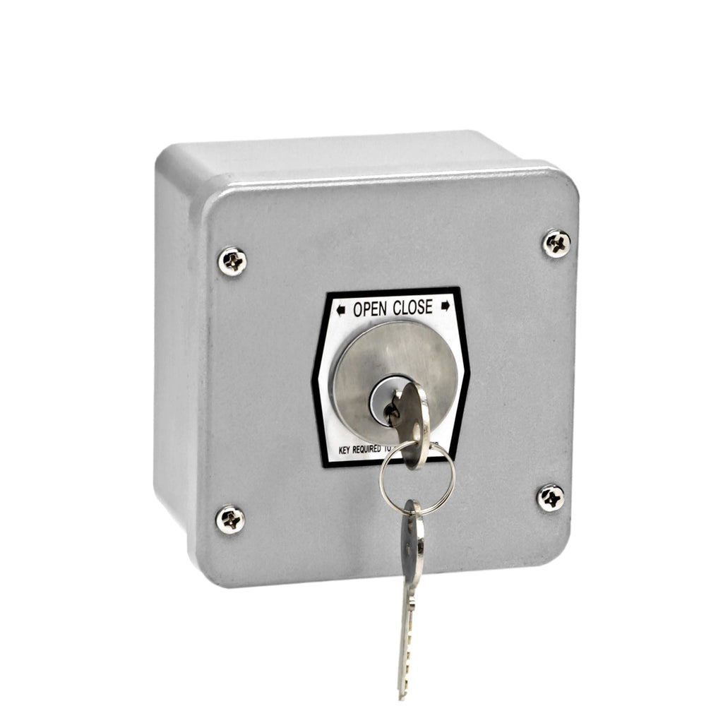 MMTC 1KX Nema 4 Exterior Tamperproof Open-Close Key Switch Surface Mount