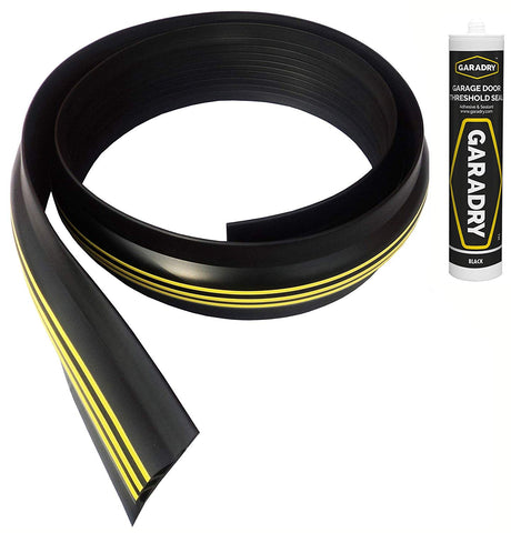 "Garadry 1"" Garage Door Threshold Seal Kit 20'3"""