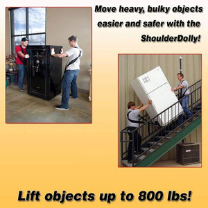 Shoulder Dolly Moving Straps - Lifting Strap for 2 Movers