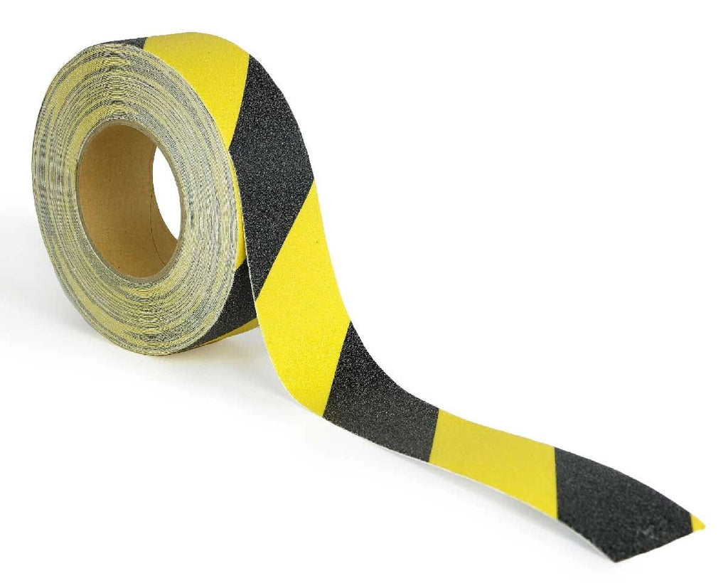 Safety Tape Roll Yellow and Black Anti Slip Highest Traction