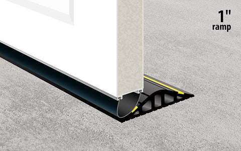 "Garadry 1"" Garage Door Threshold Seal Kit RAMP Design 8'3"""