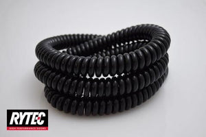 "Rytec Coil cord 4 wire 36"" black"