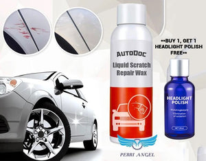 AutoDoc Liquid Scratch Repair Wax + FREE 9H Headlight Cleaning Polish Buy 1 Get 1 FREE With USB Lamp