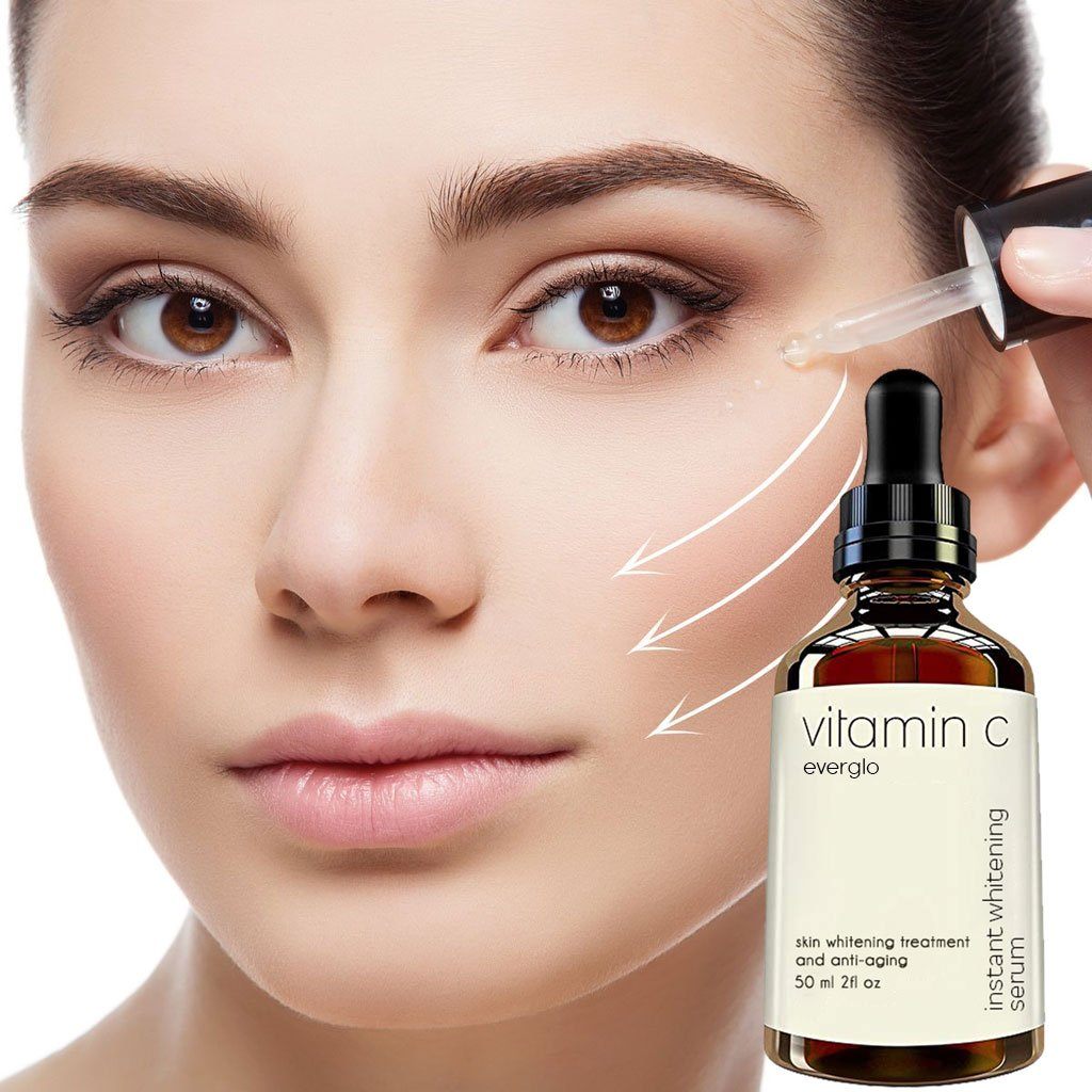 Vitamin C Facial Liquid Hyaluronic Acid face Serum for Face Miracle Glow Whitening Facial Lifting Serum Skin Care 50ml
