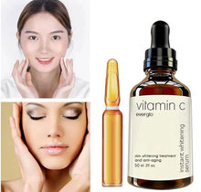 Load image into Gallery viewer, Vitamin C Facial Liquid Hyaluronic Acid face Serum for Face Miracle Glow Whitening Facial Lifting Serum Skin Care 50ml