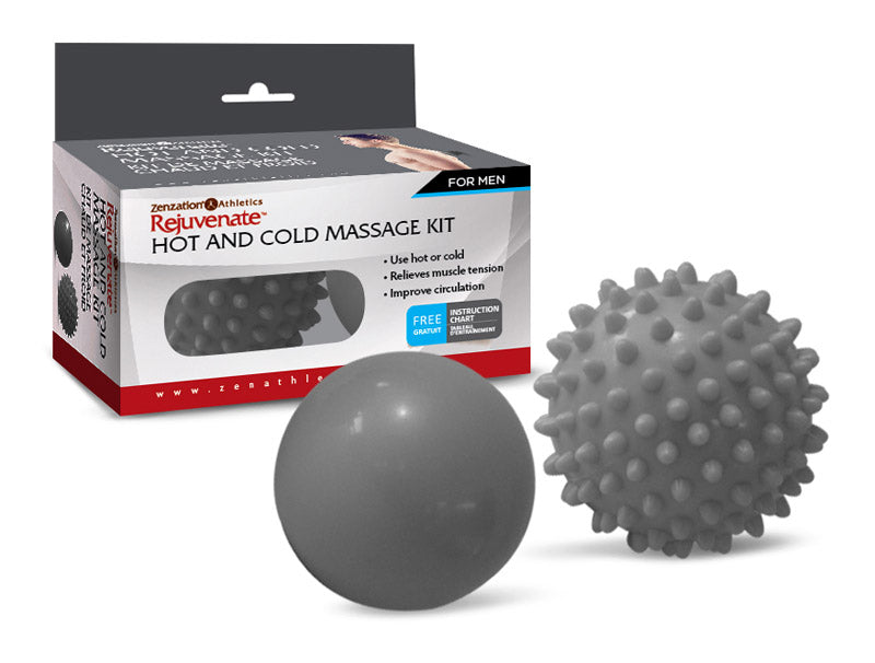 HOT AND COLD Acupressure Ball Set,CLERANCE, Reg $15