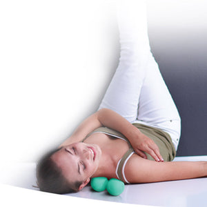Twin Roll Acupressure Balls,ONLY  Black, Grey Available