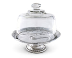 Horse Plate Stand with Glass Dome