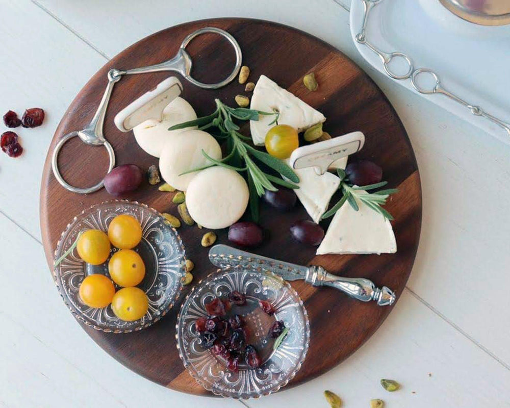 Equestrian Bit Cheese Board