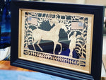 Liberty - Equestrian Framed Art