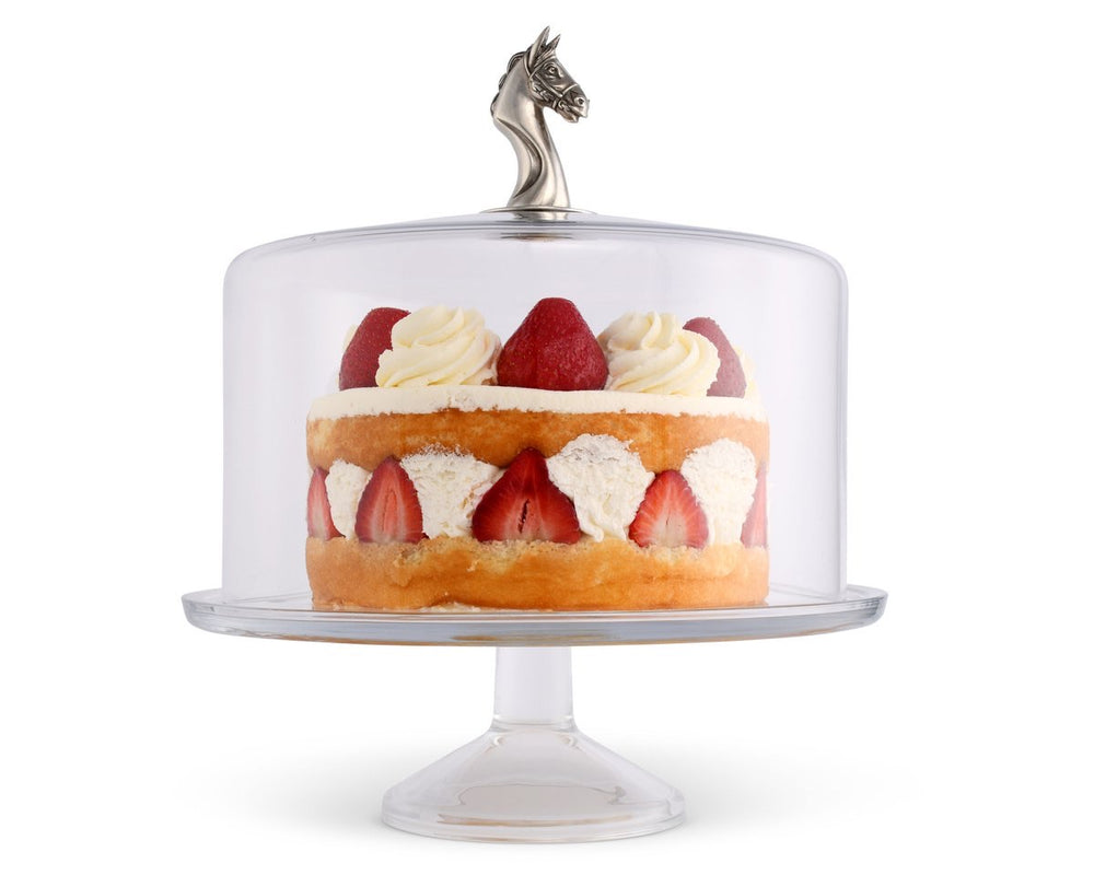Equestrian Cake Stand